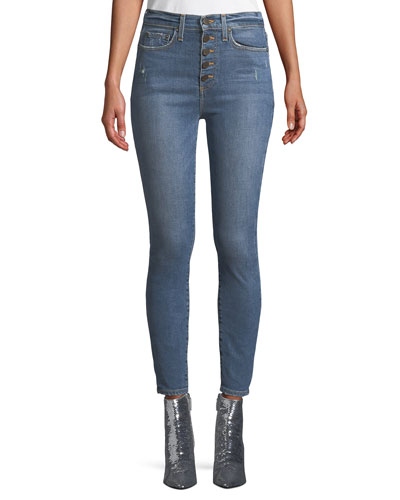 Good High-Rise Cropped Skinny Jeans