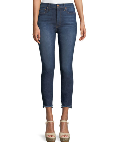 AO.LA by Alice+Olivia Good High-Rise Skinny Jeans with