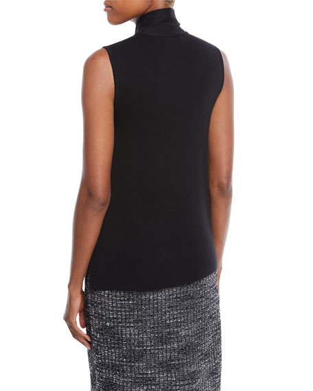Sleeveless Knit Top w/ Tie Detail, Plus Size