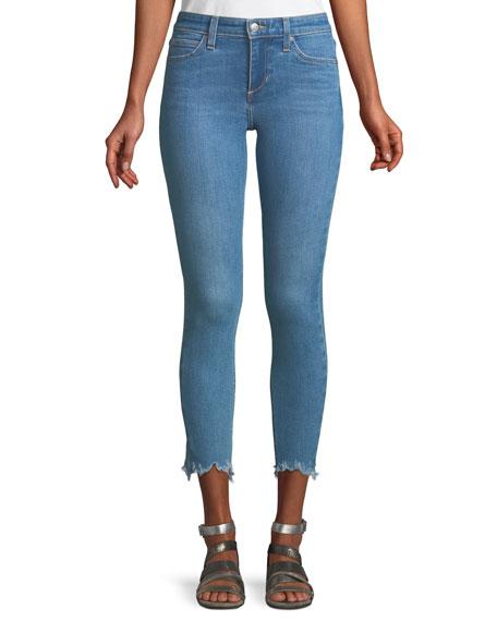 The Icon Skinny Jeans w/ Chewed Hem