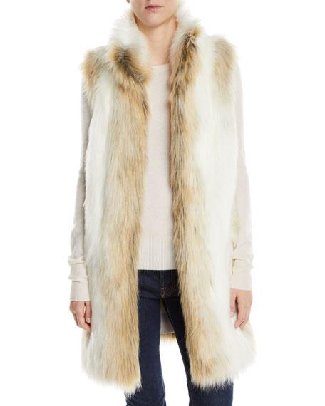 Fabulous Furs STROLLER FAUX-FUR VEST
