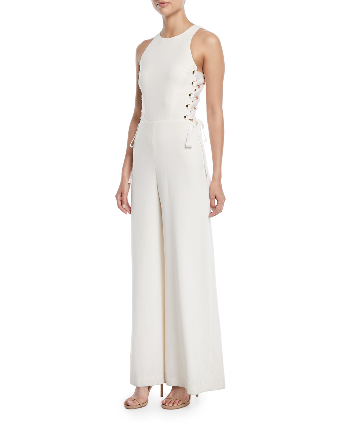 d228f0bc332a Zimmermann Laced In Wide-Leg Jumpsuit
