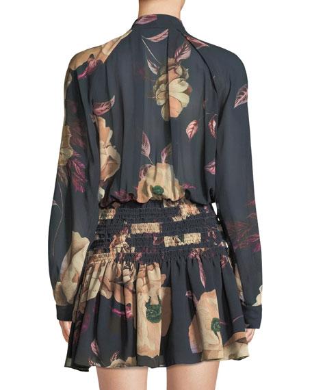 Mariposa Mini Dress in Floral Print