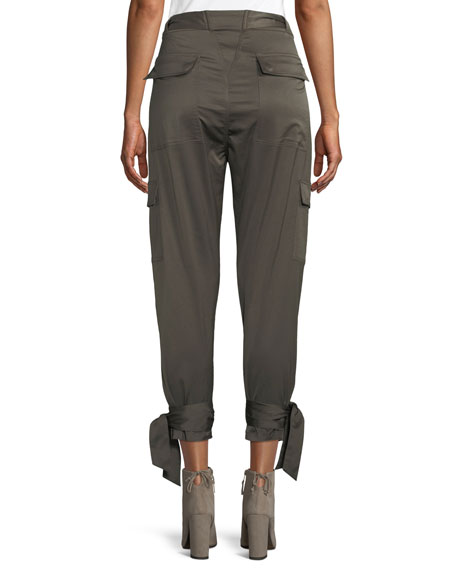 Erlette Cropped Cargo Pants