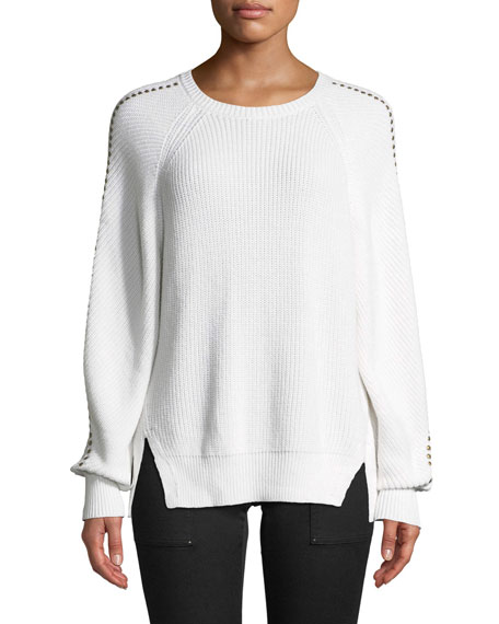 Joie Daxton Studded Crewneck Sweater and Matching Items