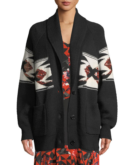 Joie Faisal Sequin Button-Front Cardigan and Matching Items