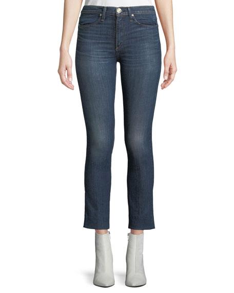 rag & bone/JEAN High-Rise Cropped Cigarette Jeans