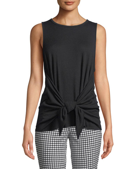 Bigsby Tie-Front Tank Top
