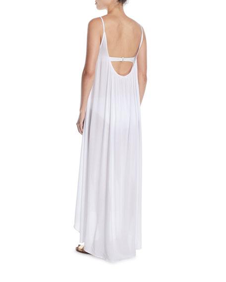 Biarritz High-Low Maxi Coverup Dress