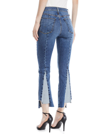Holly High-Rise Cropped Kick-Flare Jeans
