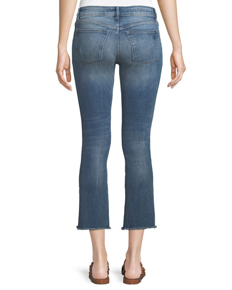 Instaslim Cropped Flare-Leg Jeans