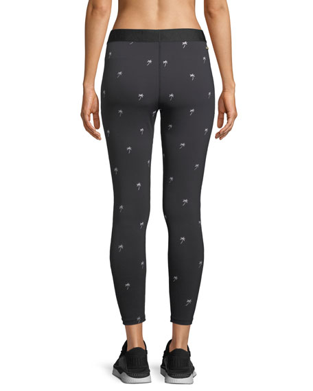 Base Embroidered Performance Tights