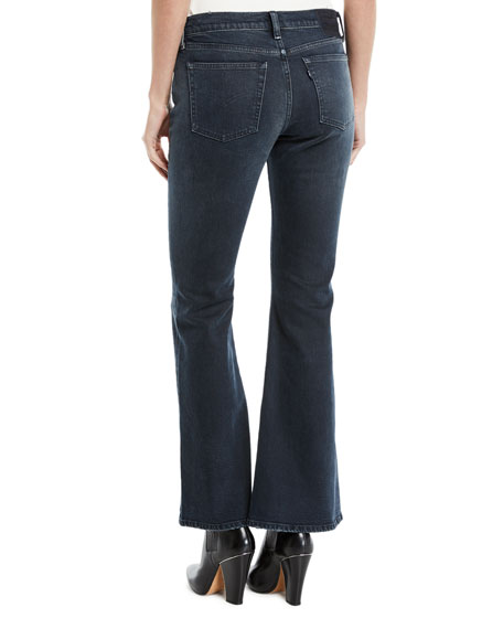 LMC Stems Mid-Rise Five-Pocket Flared-Leg Jeans