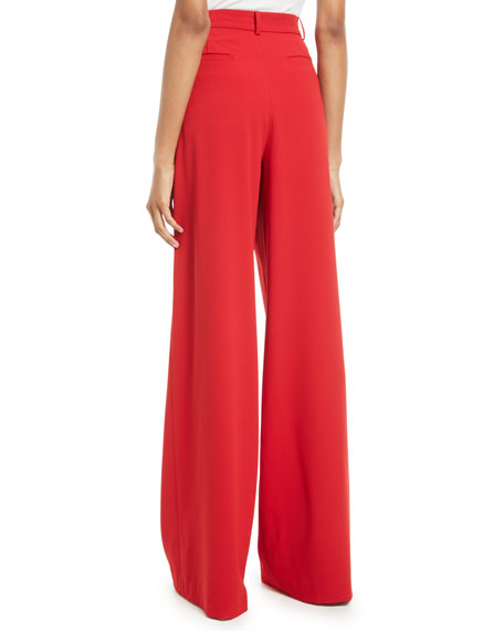 Eric High-Waist Wide-Leg Pants