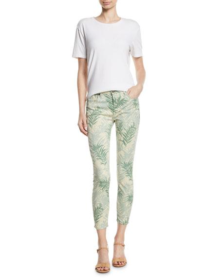 Ava Palm Springs Cropped Skinny Jeans