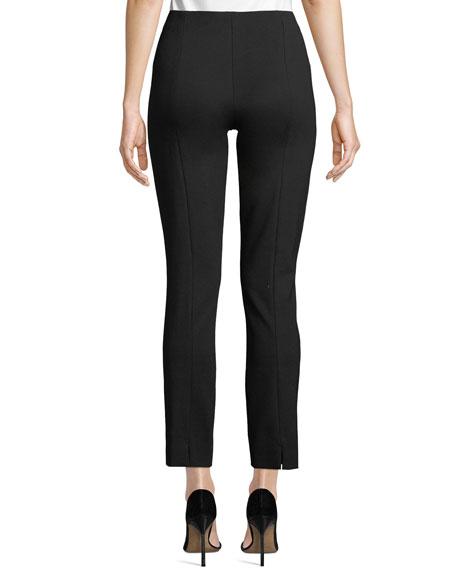 Ponte Slim-Leg Pants, Petite