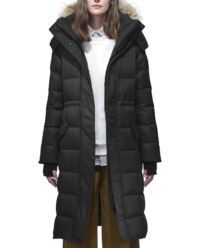 Lunenberg Long Parka w/ Fur Trim & Removable Hood