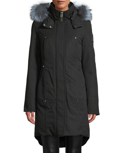 Ivex Valley Parka Coat w/ Fur Hood