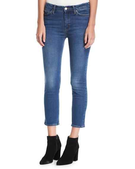 Niki Mid-Rise Crop Skinny Jeans