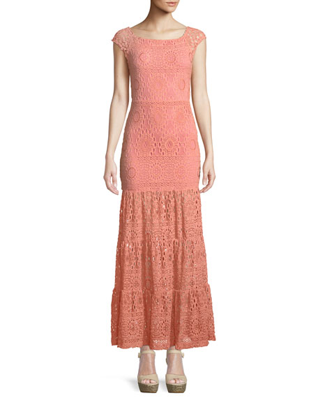 Nightcap Clothing Cherry Blossom Positano Maxi Dress