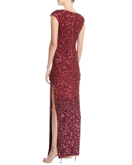 Jojo Embellished Fitted Gown