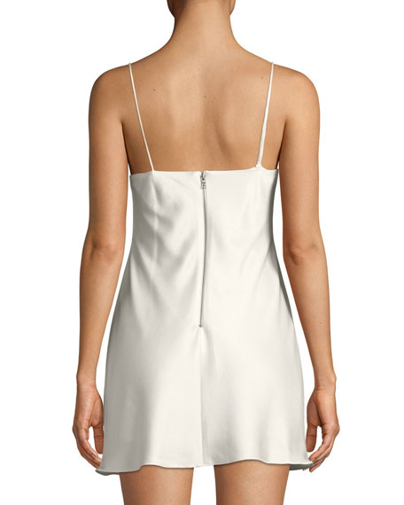 Harmony Sleeveless Mini Slip Dress