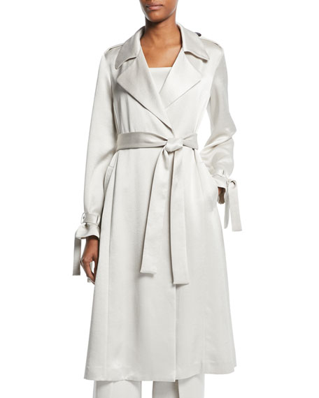 Jocasta Belted Trench Coat