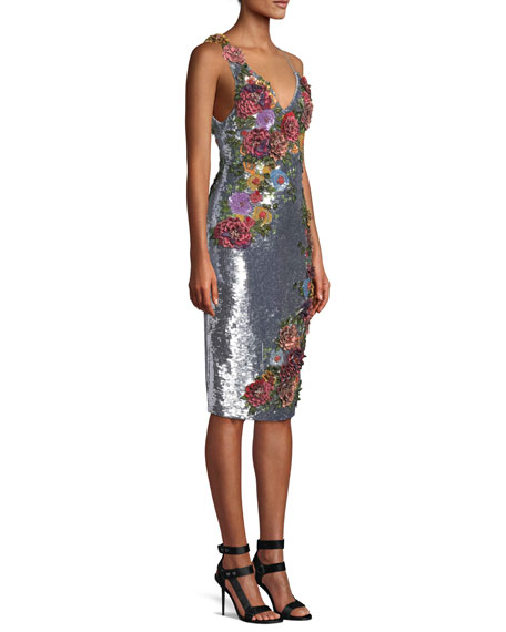 Francie Embellished Fitted Shirt Gown