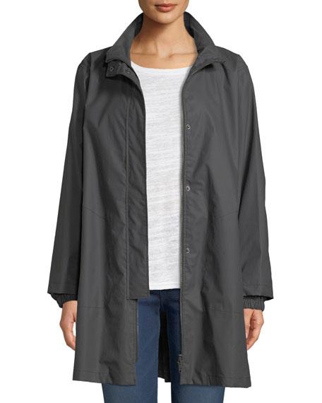MASAI Tia Long Rain Jacket in Stone