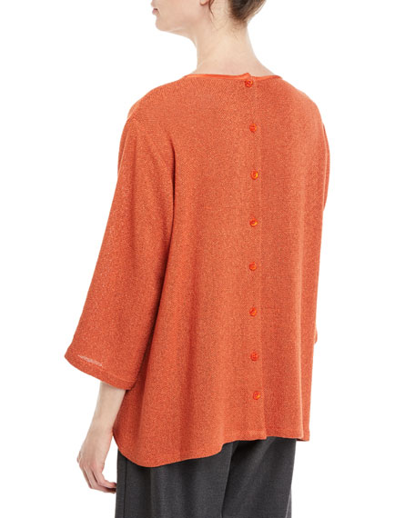 Barbara Boucle Relaxed Top