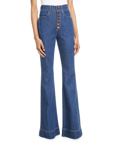 Beautiful High-Rise Wide-Leg Jeans