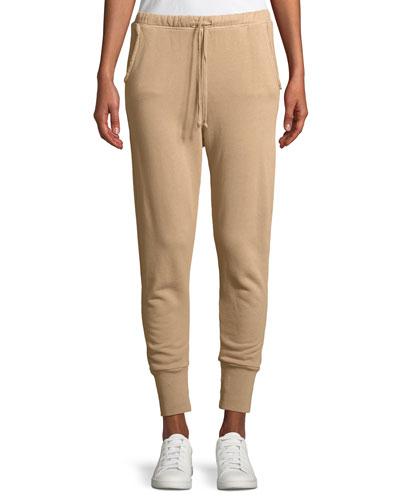 Cotton Fleece Jogger Sweatpants