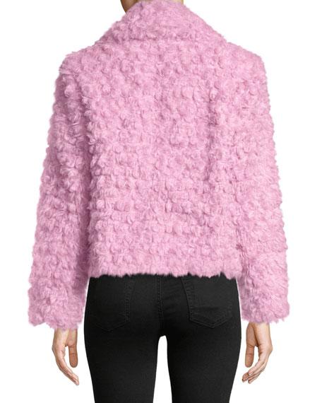 Georgia Faux-Fur Button-Front Jacket