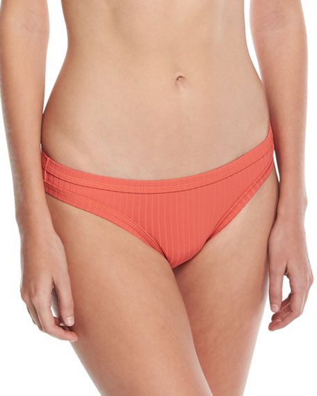 Inka Ribbed Hipster Swim Bikini Bottom