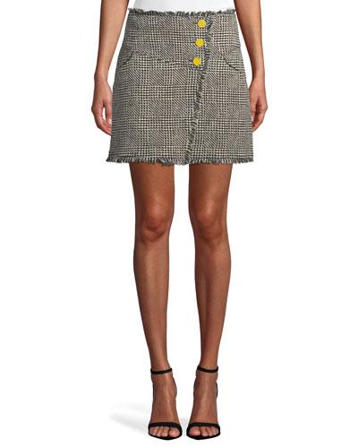 Monti Tweed Skirt