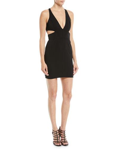 Krooger Mini Dress w/ Cutout Back