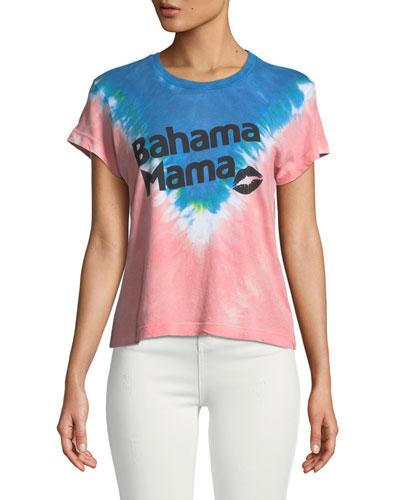Bahama Mama Graphic Tie-Dye Tee