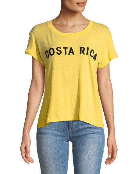 Costa Rica Graphic Cotton Tee
