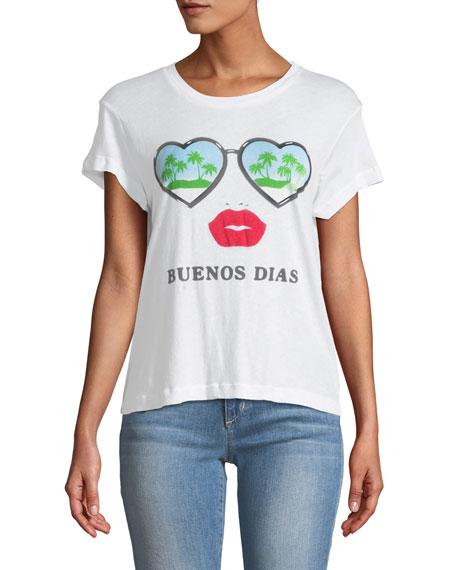 Buenos Dias Graphic Cotton Tee