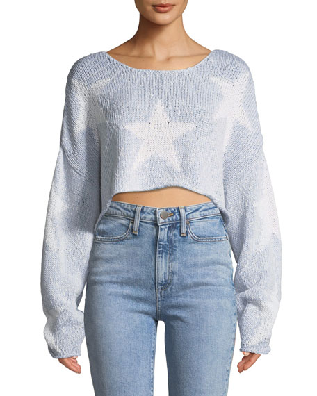 Star-Crossed Cropped Sweater