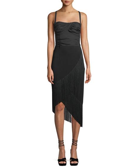 Rarified Jersey Skirt w/ Fringe