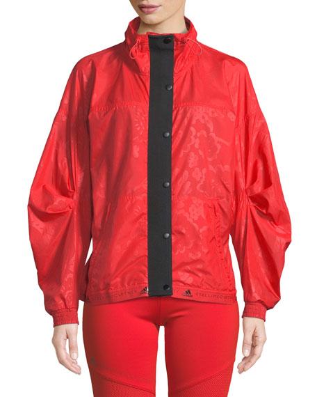 adidas by Stella McCartney Run Wind-Resistant Zip-Front