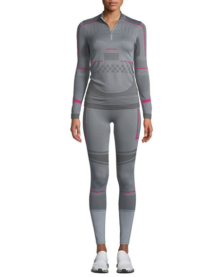 Training Seamless Colorblock Performance Tights