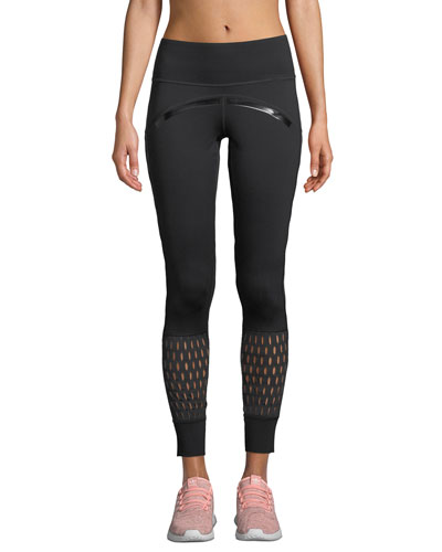 Believe This High-Rise Mesh Training Tights
