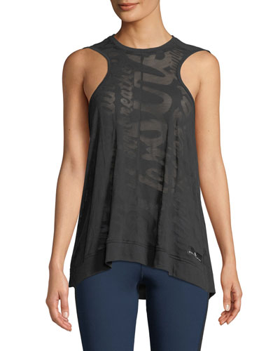 Essentials Aeroknit Draped Performance Tank