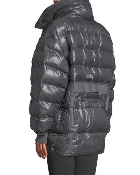 Training Zip-Front Parka Jacket