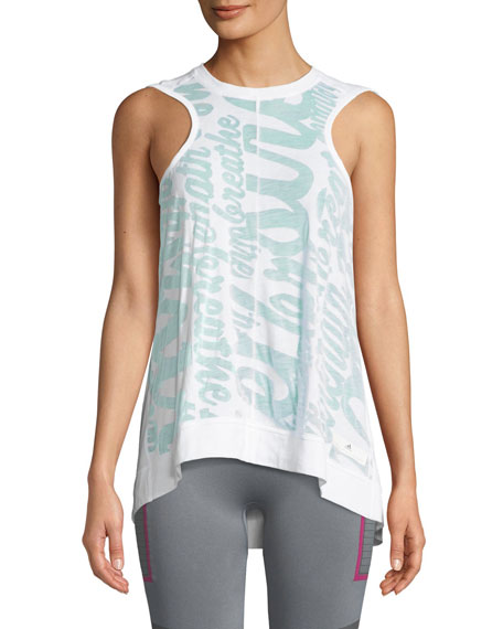 adidas by Stella McCartney Essentials Draped Graphic Performance