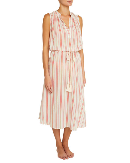 Russel Patio-Stripe Coverup Dress