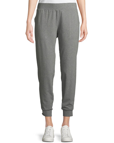 Heathered Jersey Slouchy Pants