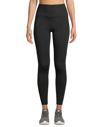 Breath Out High-Rise Mesh Activewear Leggings
